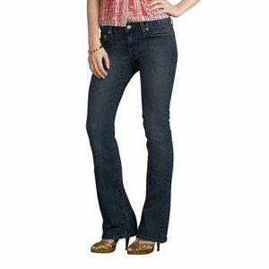 Levi's 12 Short 545 Denim Jeans Boot Cut